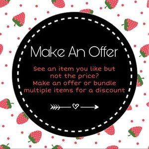 Other - 🍓Make Me An Offer🍓